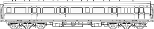 Scale drawing of D95B