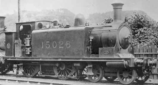Photo of 15026 in LMS days