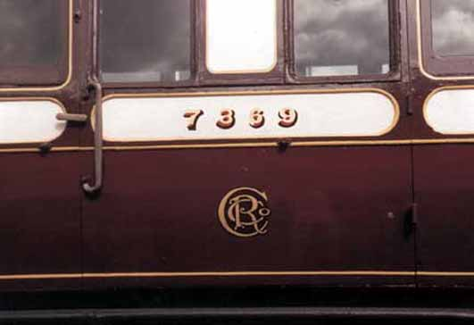 Number/Roundal detail from preserved D111A